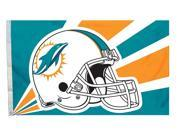 Miami Dolphins Official NFL Banner Flag by Fremont Die 942379 9SIA00Y45E9756