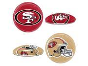 San Francisco 49ers Official NFL  magnet by Wincraft 9SIA12Y35M4986