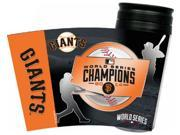 MLB San Francisco Giants Hunter 2014 World Series Champions 16-Ounce Insulated T 9SIAC564ZB1749