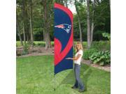 The Party Animal TTNE Patriots Tall Team Flag with Pole
