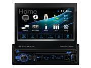 """Dual AV 7.0"""" Motorized Touch Screen DVD BT 1A USB remote HDMI Android 2-way DV735MB"""