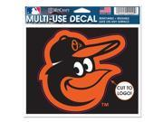 Baltimore Orioles Official MLB Window Cling Decal by Wincraft 9SIA12Y1HP6190