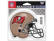 "Tampa Bay Buccaneers Official NFL 4.5""""x6"""" Car Magnet by Wincraft"" 9SIA12Y1083683"