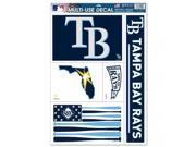 """Tampa Bay Rays Official MLB 11""""""""x17"""""""" Car Window Cling Decal by Wincraft"""" 9SIA12Y0AW5442"""