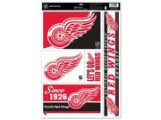 Detroit Red Wings Official NHL 11 inch  x 17 inch  Car Window Cling Decal by Wincraft 9SIA12Y1YB6124