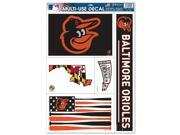 """Baltimore Orioles Official MLB 11""""""""x17"""""""" Car Window Cling Decal by Wincraft"""" 9SIA12Y0RC4368"""