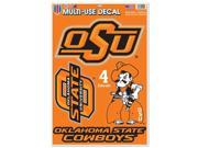Oklahoma State Cowboys Official NCAA 11 inch  x 17 inch  Car Window Cling Decal by Wincraft 9SIA12Y2MS8934