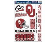 "Oklahoma Sooners Official NCAA 11""""x17"""" Car Window Cling Decal by Wincraft"" 9SIA12Y0AU1375"