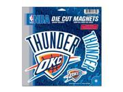 Oklahoma City Thunder Official NBA Car Magnet by Wincraft 9SIA12Y1GT5941