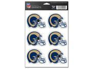 "St. Louis Rams Official NFL 2"""" Car Magnet 6-Pack by Wincraft"" 9SIA12Y0PE3134"