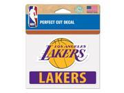 """Los Angeles Lakers Official 4""""""""x5"""""""" Die Cut Decal by Wincraft 43380014"""" 9SIA12Y1F54190"""