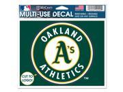 Oakland Athletics Official MLB Window Cling Decal by Wincraft 9SIA12Y1GT5882
