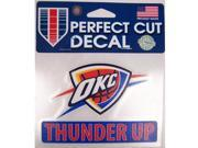 """Oklahoma City Thunder Official 4""""""""x5"""""""" Die Cut Decal by Wincraft 43309014"""" 9SIA12Y1F54306"""