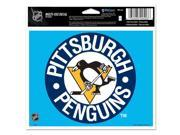 """Pittsburgh Penguins Official NHL 4.5""""""""x6"""""""" Car Window Cling Decal by Wincraft"""" 9SIA12Y0AU1112"""