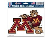 """Minnesota Golden Gophers Official NCAA 4.5""""""""x6"""""""" Car Window Cling Decal by Wincraft"""" 9SIA12Y0AU6070"""