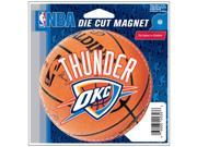 """Oklahoma City Thunder Official NBA 4.5""""""""x6"""""""" Car Magnet by Wincraft"""" 9SIA12Y0AU1758"""