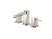 Danze D304033BN Reef 8 in. Widespread 2-Handle Low-Arc Bathroom Faucet in Brushe