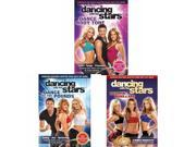 Dancing With The Stars Fitness Exercise Workout DVD's 3-Pack