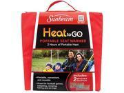 Sunbeam SSGP310-35 Heat to Go Portable Warming Stadium Seat, Garnet