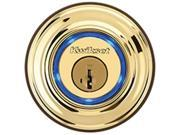 KWIKSET CORPORATION 925-3 KEVO LOCK ELECTRONIC KEYFOB POLBRSS Finish=Polished Br