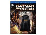 BATMAN VS ROBIN (BLU-RAY/DVD/DIGITAL HD/DELUXE GIFTSET/W-FIGURE/2 DISC/DC) 9SIA12Z4K57429
