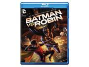 BATMAN VS ROBIN (BLU-RAY/DVD/DIGITAL HD/UV/2 DISC/ANIMATED/DC UNIVERSE MOV) 9SIA12Z4K83963