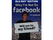 Why I'm Not on Facebook(BD) BD-25 9SIA12Z4MT9972