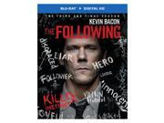 FOLLOWING-COMPLETE 3RD SEASON (BLU-RAY/ULTRAVIOLET/3 DISC) 9SIA12Z4S97532