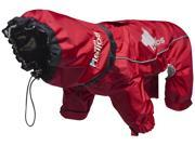 Helios Weather King Ultimate Windproof Full Bodied Pet Jacket Red Small