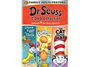 DR SEUSS TRIPLE FEATURE (DVD/3 DISC/GREEN EGGS/LORAX/CAT IN HAT)