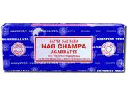 Sai Baba, Nag Champa Incense Case of 4 250 Grams