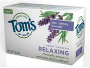 Tom s of Maine Natural Beauty Bar Relaxing 113g 4oz With Calming Lavender
