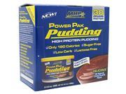 Power Pak Pudding, Chocolate, 6 Each, From MHP