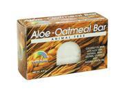 Rainbow Research Aloe Oatmeal Bar Soap 4.2 Oz.