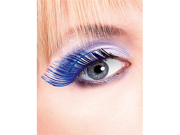 Light Blue Feather Eyelashes  Baci Magic Colors