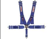 G-FORCE 7000BU 5-Point SFI Camlock Racing Harness Blue