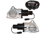 "QTP QTEC60 Dual 3"" Electric Exhaust Cutout Valves"
