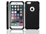 """For iPhone 6 Plus 5.5"""" Shockproof Rugged Hybrid Rubber Hard Cover Case"""