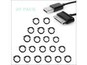 20 PACK Sync Data Cable For Samsung Galaxy Tab USB to 30 Pin 3ft Data Cable Compatible With Galaxy Tablets Models - Tab 7-inch, 8.9-inch, 10.1-inch Device Sync & Charge – BLACK Lot Wholesale