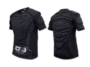 Planet Eclipse Overload Padded Paintball Jersey - Black - Small