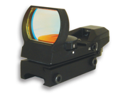 NcSTAR D4B Red Dot Sight - Tactical Red Dot With 4 Different Reticles (Black)