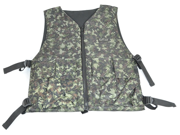 GXG Paintball Reversible Vest/Chest Protector - Digi Green/Black
