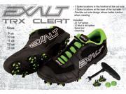 Exalt TRX Paintball Cleats Black Lime Size Men s 10