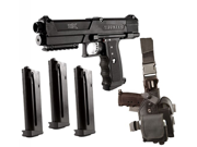 Tippmann TPX TipX Trufeed Deluxe Paintball Pistol Kit Black
