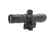 NcStar Armored 3-9x42 Mark III Mil Dot Retical Scope w/Red Laser