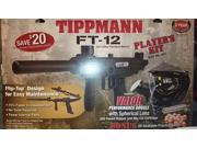 Tippmann FT-12 Flip Top Paintball Marker Gun Player's Kit