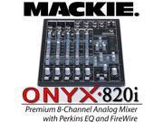 Mackie Onyx 820i 820 i FireWire 8-Chan Analog Mixer EQ