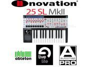 Novation 25 Sl Mk2 25-key USB MIDI Controller