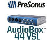 PreSonus AudioBox44VSL USB Audio Interface Fat Ch - New