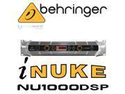 Behringer iNuke NU1000DSP 1000-Watt Power Amplifer w/DSP Control & USB Interface